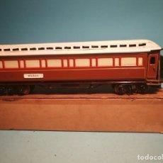 Trenes Escala: PAYA VAGON 1375 PASAJEROS TECHO PROTOTIPO. PIEZA ÚNICA. Lote 222156556
