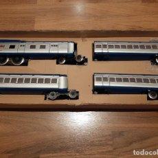 Trenes Escala: PAYA, AUTOMOTOR AZUL, EN SU CAJA ORIGINAL, NUEVO, FUNCIONA PERFECTAMENTE. Lote 222726035