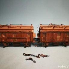 Trenes Escala: ANDALUCES DOBLE TRACCIÓN TRIFÁSICO BROWN BOVERI 37CM. Lote 222736440