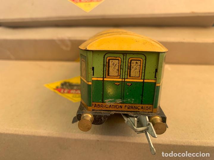 Trenes Escala: L.R. LE RAPIDE LOTE 3 VAGONES TREN ESCALA 0 AÑOS 30 - Foto 3 - 222909370