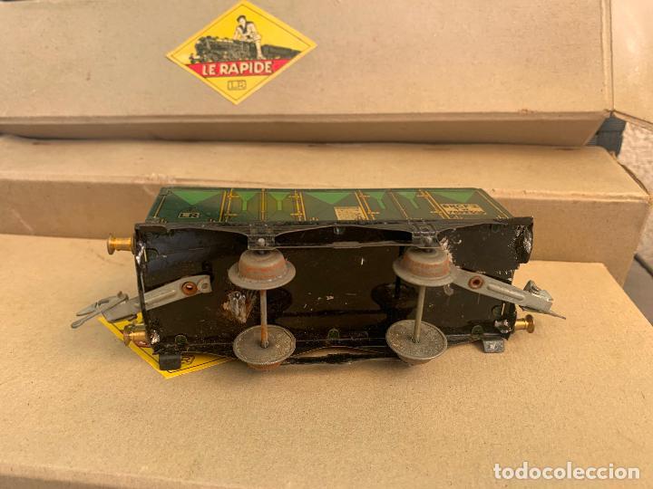 Trenes Escala: L.R. LE RAPIDE LOTE 3 VAGONES TREN ESCALA 0 AÑOS 30 - Foto 5 - 222909370