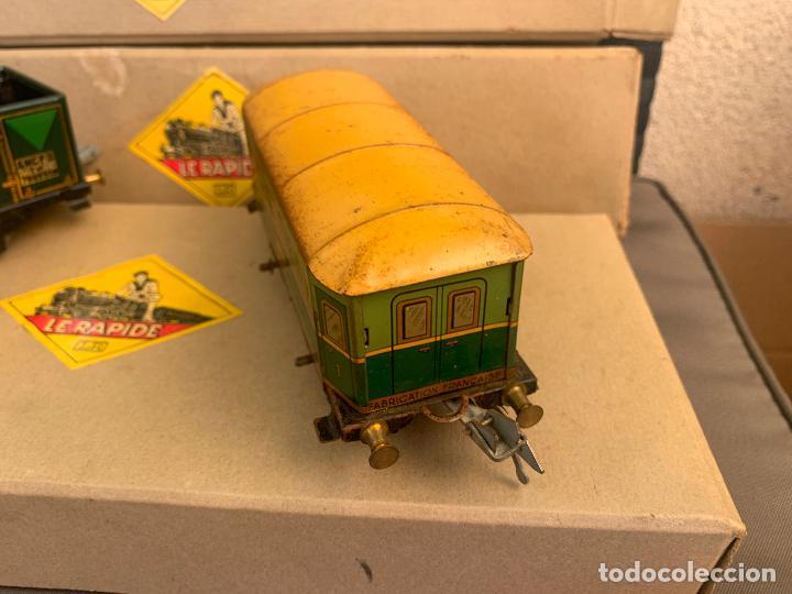 Trenes Escala: L.R. LE RAPIDE LOTE 3 VAGONES TREN ESCALA 0 AÑOS 30 - Foto 7 - 222909370