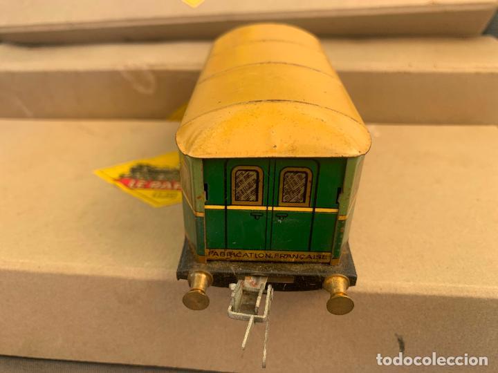 Trenes Escala: L.R. LE RAPIDE LOTE 3 VAGONES TREN ESCALA 0 AÑOS 30 - Foto 12 - 222909370