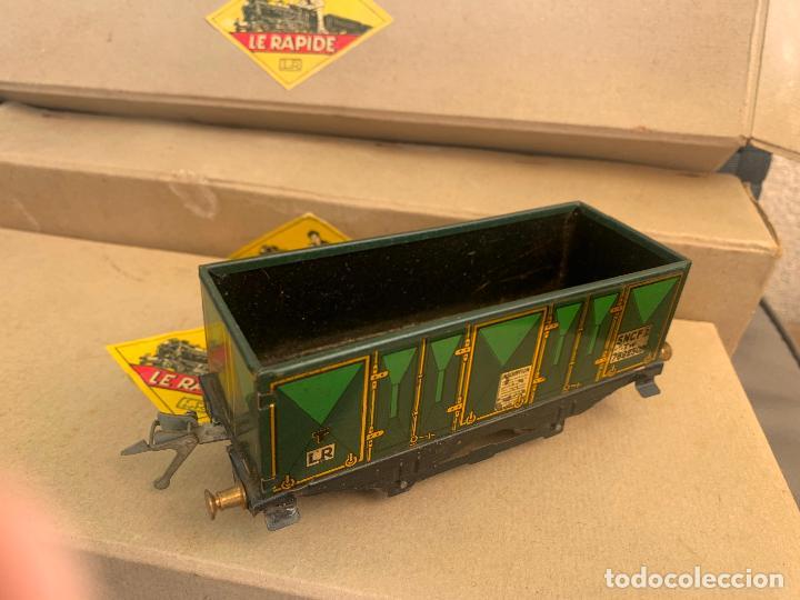 Trenes Escala: L.R. LE RAPIDE LOTE 3 VAGONES TREN ESCALA 0 AÑOS 30 - Foto 14 - 222909370