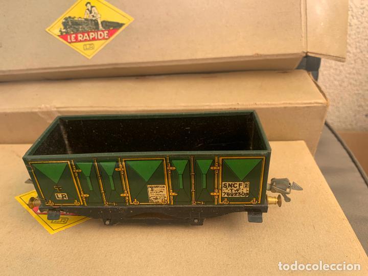 Trenes Escala: L.R. LE RAPIDE LOTE 3 VAGONES TREN ESCALA 0 AÑOS 30 - Foto 15 - 222909370