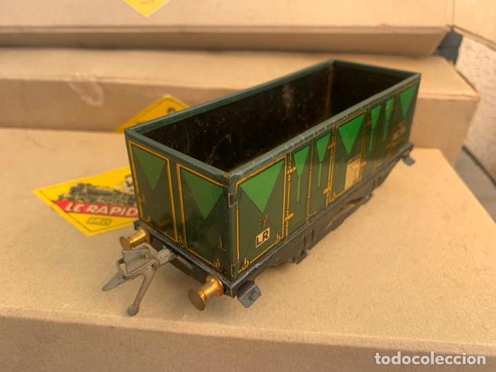 Trenes Escala: L.R. LE RAPIDE LOTE 3 VAGONES TREN ESCALA 0 AÑOS 30 - Foto 16 - 222909370