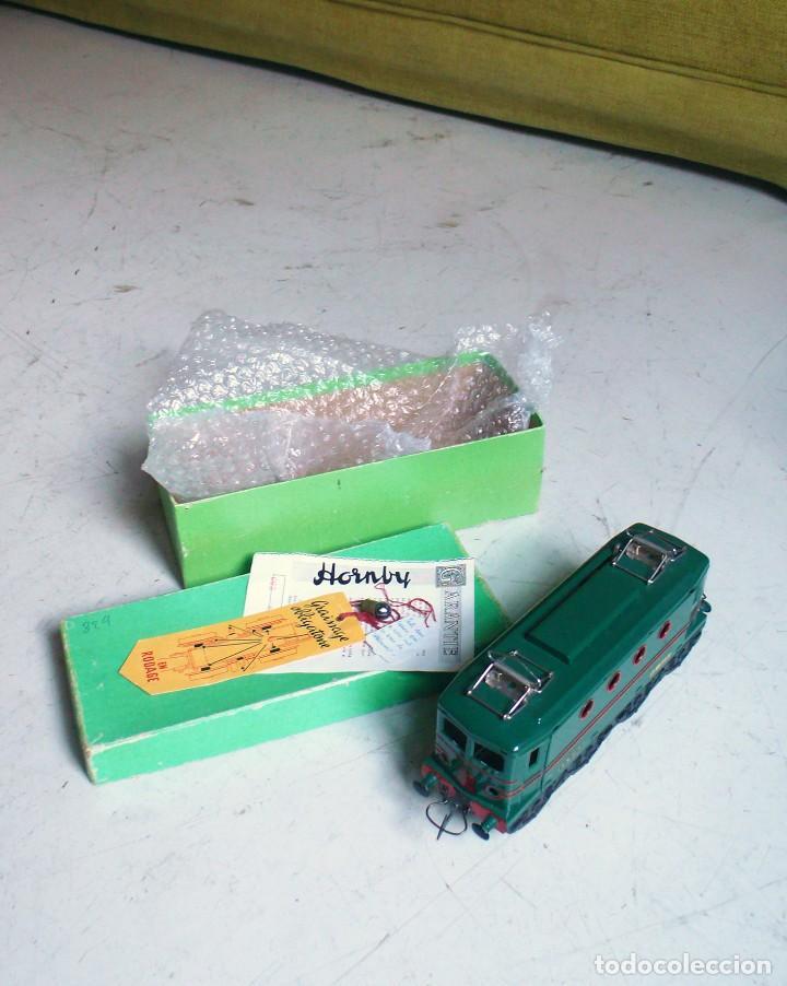 Trenes Escala: Locomotora Hornby BB 8051 en escala 0. Con caja original. Años 50-60 - Foto 2 - 224752358