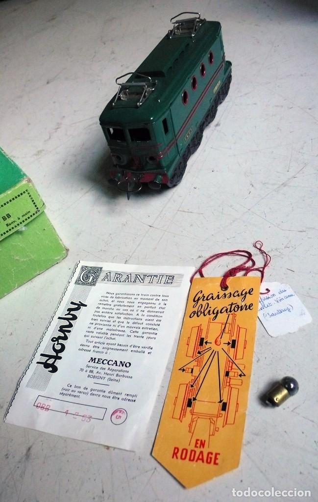 Trenes Escala: Locomotora Hornby BB 8051 en escala 0. Con caja original. Años 50-60 - Foto 5 - 224752358