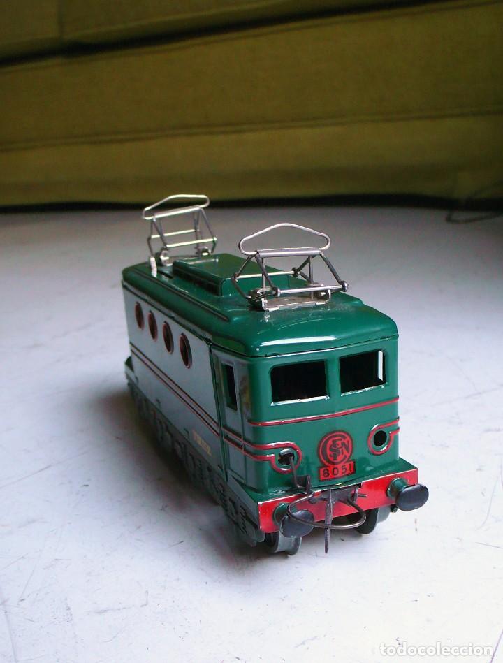 Trenes Escala: Locomotora Hornby BB 8051 en escala 0. Con caja original. Años 50-60 - Foto 8 - 224752358