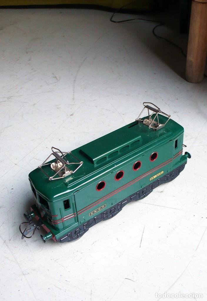 Trenes Escala: Locomotora Hornby BB 8051 en escala 0. Con caja original. Años 50-60 - Foto 9 - 224752358