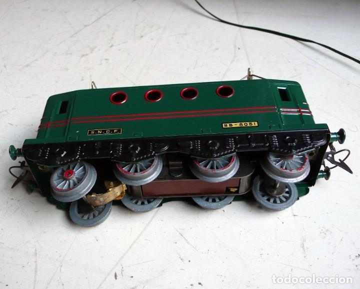 Trenes Escala: Locomotora Hornby BB 8051 en escala 0. Con caja original. Años 50-60 - Foto 10 - 224752358