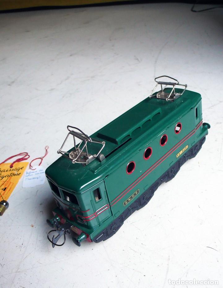 Trenes Escala: Locomotora Hornby BB 8051 en escala 0. Con caja original. Años 50-60 - Foto 11 - 224752358