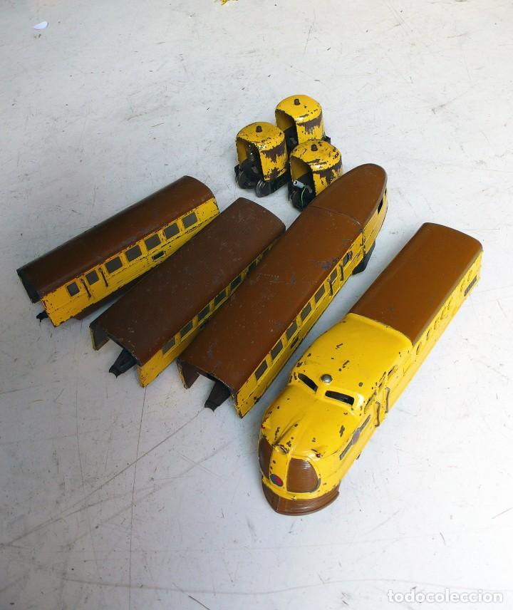 Trenes Escala: Tren Lionel 636 Union Pacific. Compatible con Paya. Años 30. Escala 0 - Foto 2 - 224753371