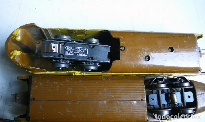 Trenes Escala: Tren Lionel 636 Union Pacific. Compatible con Paya. Años 30. Escala 0 - Foto 7 - 224753371