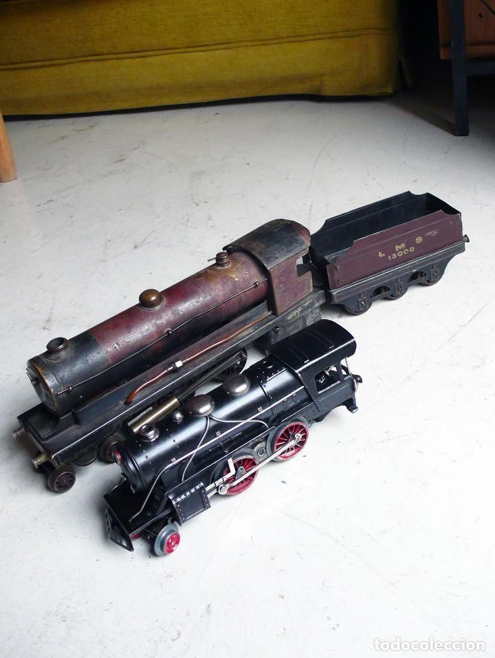 Trenes Escala: Locomotora Bowman 234 de vapor vivo. Años 20. Escala 0. - Foto 4 - 224755512