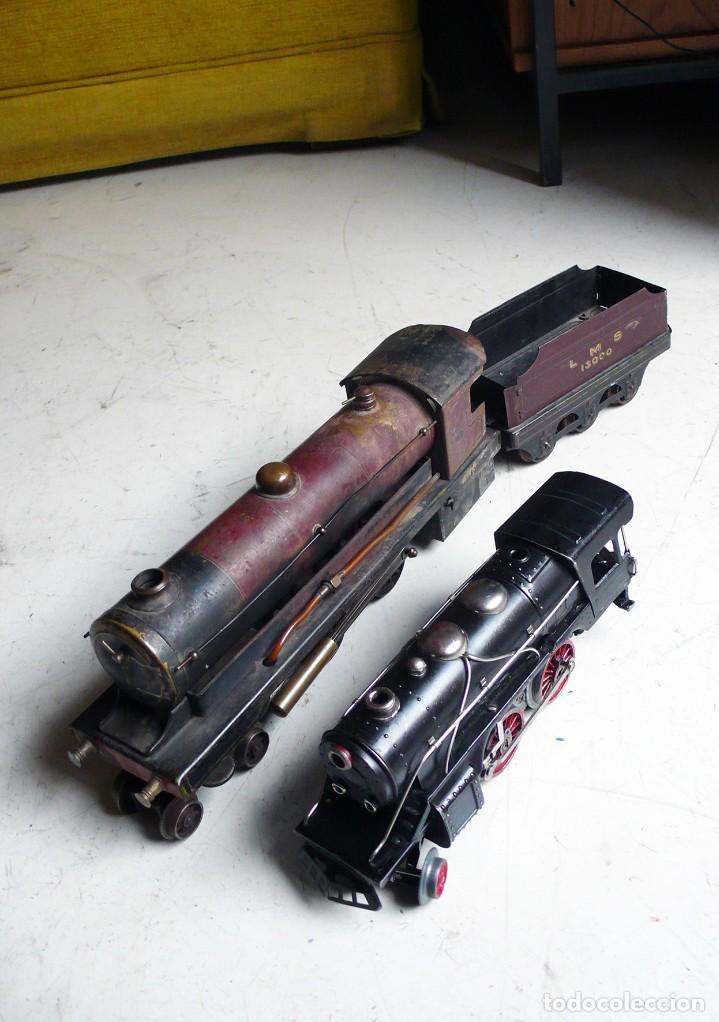 Trenes Escala: Locomotora Bowman 234 de vapor vivo. Años 20. Escala 0. - Foto 5 - 224755512