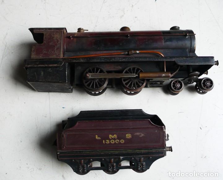 Trenes Escala: Locomotora Bowman 234 de vapor vivo. Años 20. Escala 0. - Foto 7 - 224755512