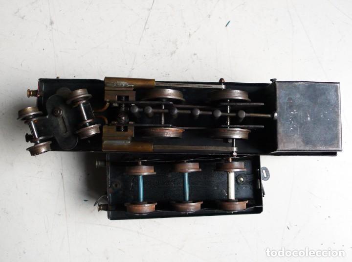 Trenes Escala: Locomotora Bowman 234 de vapor vivo. Años 20. Escala 0. - Foto 9 - 224755512