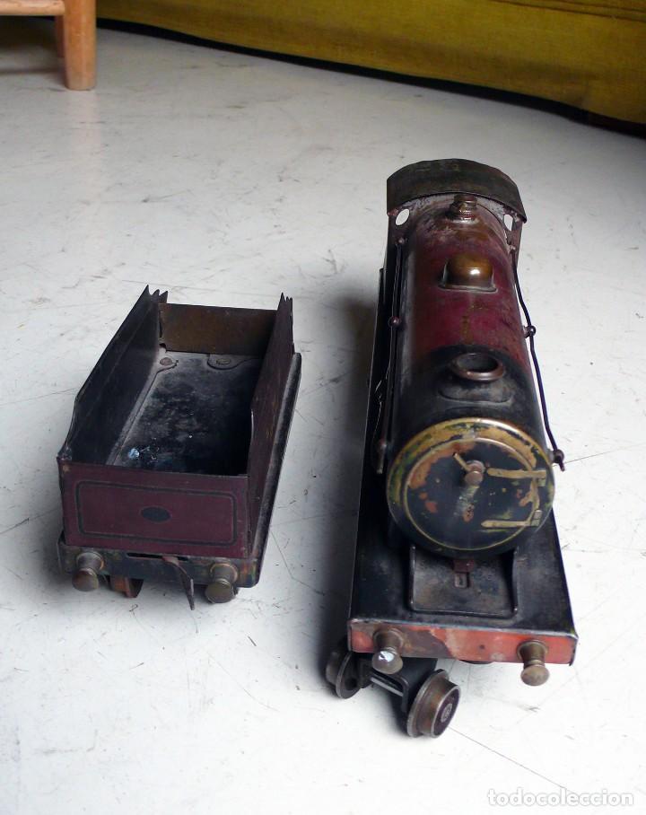 Trenes Escala: Locomotora Bowman 234 de vapor vivo. Años 20. Escala 0. - Foto 10 - 224755512