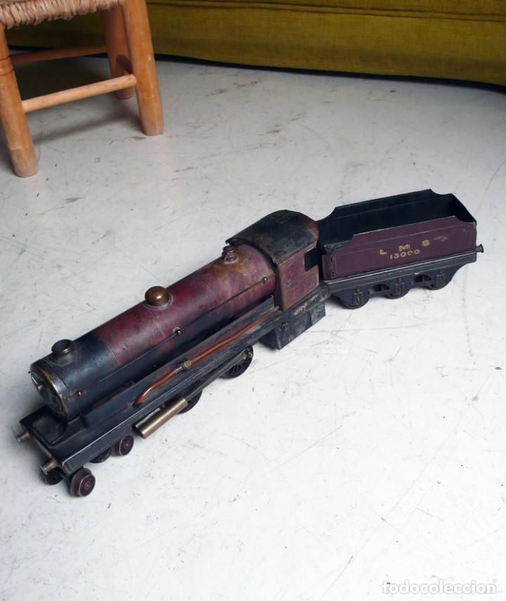 Trenes Escala: Locomotora Bowman 234 de vapor vivo. Años 20. Escala 0. - Foto 15 - 224755512