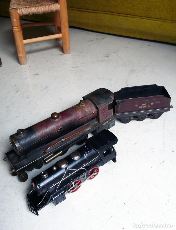 Trenes Escala: Locomotora Bowman 234 de vapor vivo. Años 20. Escala 0. - Foto 16 - 224755512