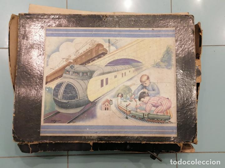 Trenes Escala: PRECIOSO TREN ANTIGUO AÑOS 20- 40 (136) - Foto 2 - 226631886