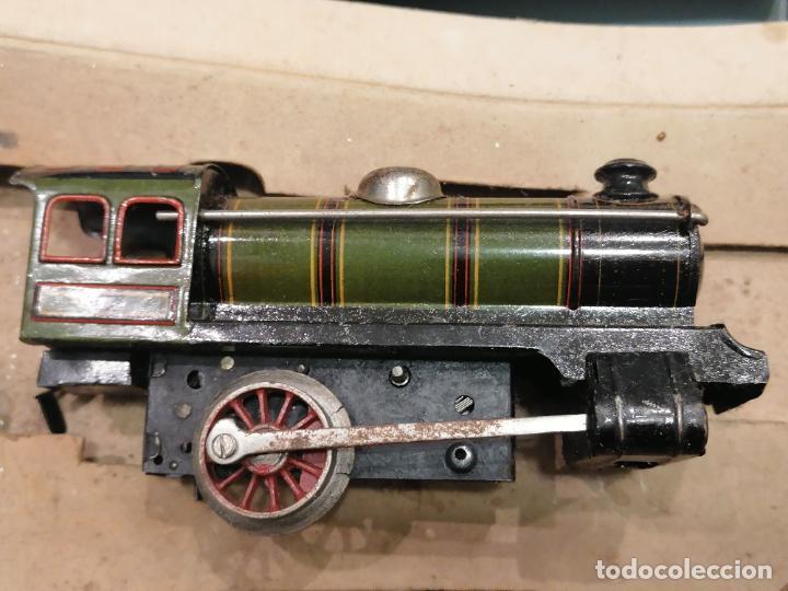 Trenes Escala: PRECIOSO TREN ANTIGUO AÑOS 20- 40 (136) - Foto 4 - 226631886