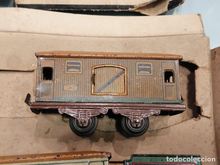 Trenes Escala: PRECIOSO TREN ANTIGUO AÑOS 20- 40 (136) - Foto 5 - 226631886