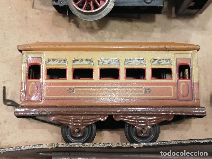 Trenes Escala: PRECIOSO TREN ANTIGUO AÑOS 20- 40 (136) - Foto 6 - 226631886