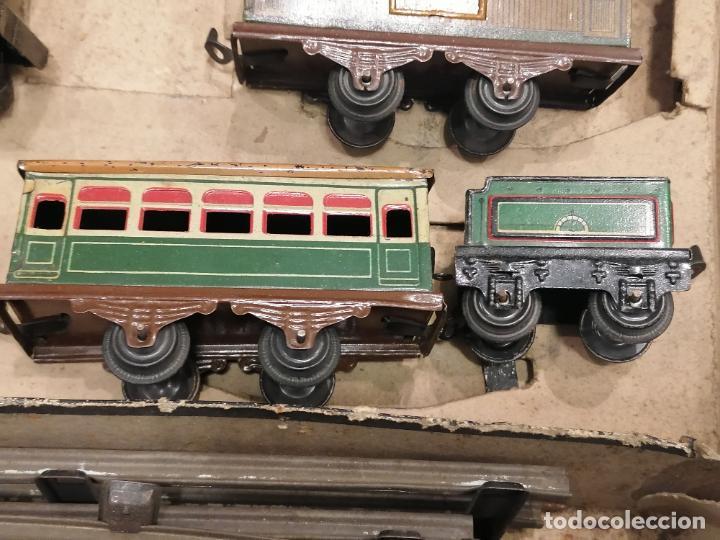 Trenes Escala: PRECIOSO TREN ANTIGUO AÑOS 20- 40 (136) - Foto 7 - 226631886