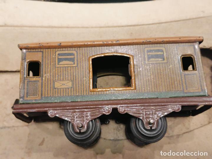 Trenes Escala: PRECIOSO TREN ANTIGUO AÑOS 20- 40 (136) - Foto 8 - 226631886