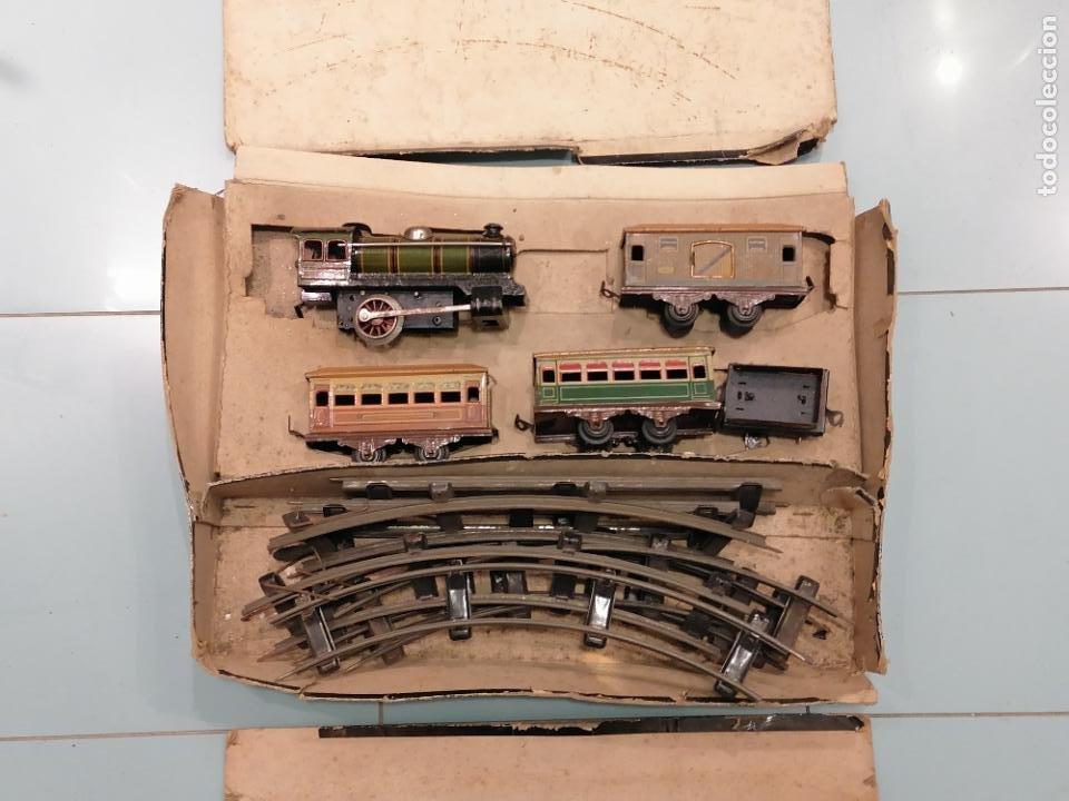 Trenes Escala: PRECIOSO TREN ANTIGUO AÑOS 20- 40 (136) - Foto 9 - 226631886