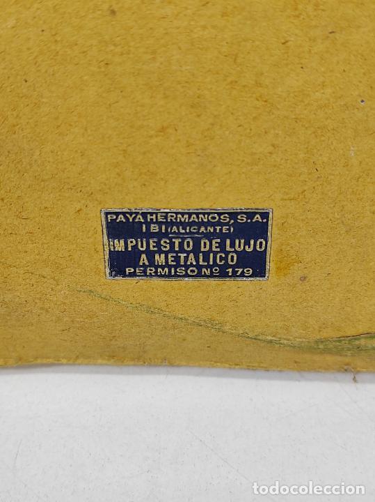 Trenes Escala: Tren Paya - Locomotora, Tender, Vagones, Vías y Trasformador - con Caja - Escala 0 - Foto 5 - 233090965