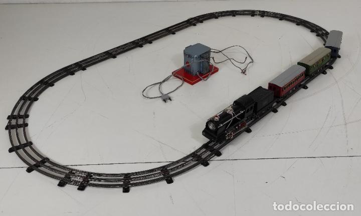 Trenes Escala: Tren Paya - Locomotora, Tender, Vagones, Vías y Trasformador - con Caja - Escala 0 - Foto 6 - 233090965