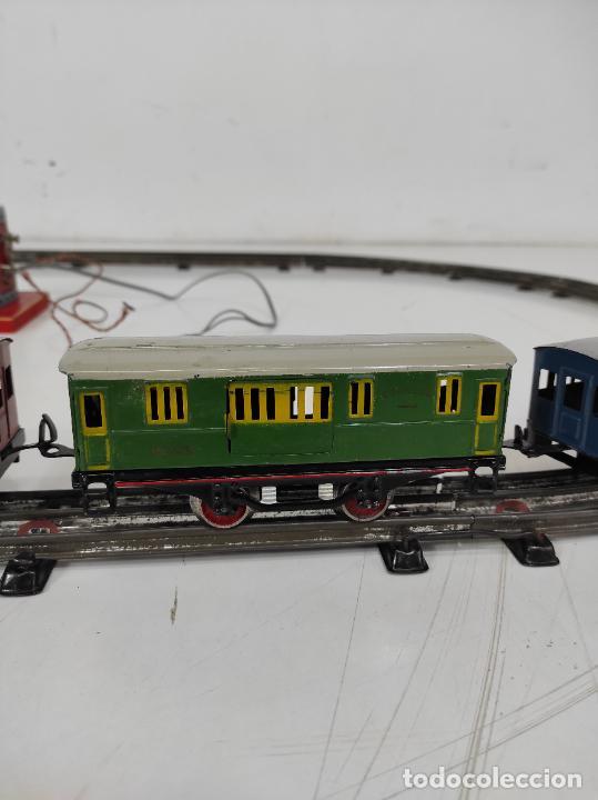 Trenes Escala: Tren Paya - Locomotora, Tender, Vagones, Vías y Trasformador - con Caja - Escala 0 - Foto 10 - 233090965