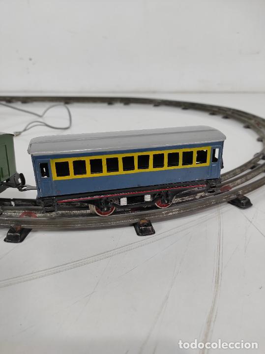 Trenes Escala: Tren Paya - Locomotora, Tender, Vagones, Vías y Trasformador - con Caja - Escala 0 - Foto 11 - 233090965
