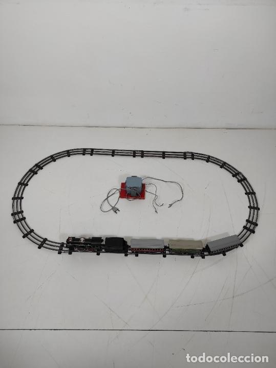 Trenes Escala: Tren Paya - Locomotora, Tender, Vagones, Vías y Trasformador - con Caja - Escala 0 - Foto 12 - 233090965