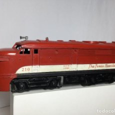Trenes Escala: LOCOMOTORA ESCALA 0 LIONEL THE TEXAS SPECIAL ÉPOCA PAYA RICO MARKLIN MANAMO. Lote 234578135