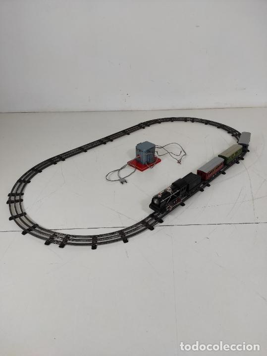 Trenes Escala: Tren Paya - Locomotora, Tender, Vagones, Vías y Trasformador - con Caja - Escala 0 - Foto 19 - 233090965