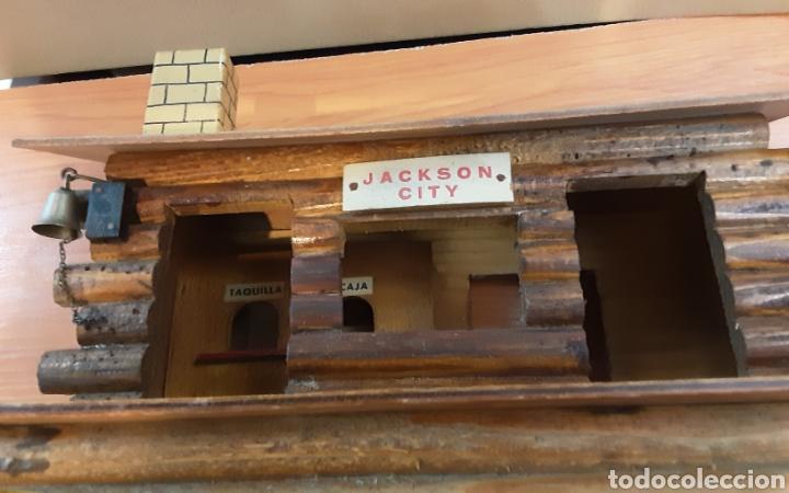 Trenes Escala: Estación madera Jackson City - Foto 2 - 235894335