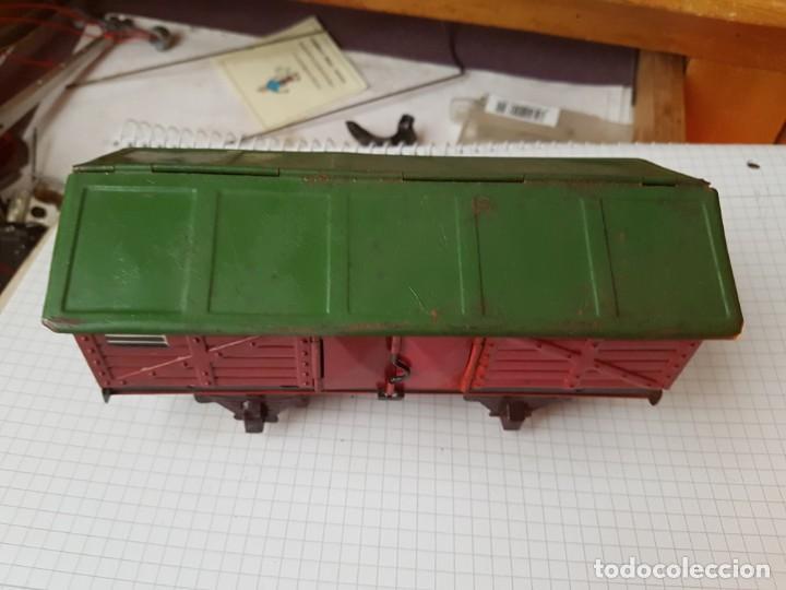 Trenes Escala: Vagón de paya Carbonero escala 0 - Foto 2 - 236099365