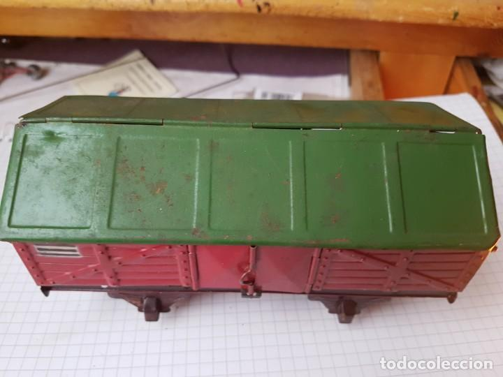 Trenes Escala: Vagón de paya Carbonero escala 0 - Foto 4 - 236099365
