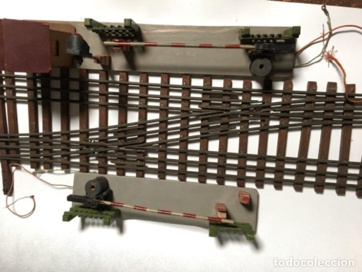 Trenes Escala: Antiguo Lote Paso a nivel eléctrico , Anden , Casa , cambió vía , MANAMO para trenes escala 0 - Foto 3 - 236996685