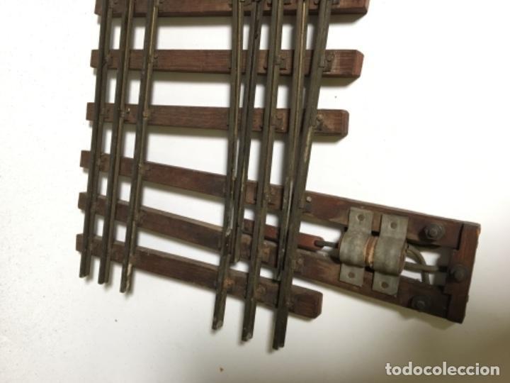 Trenes Escala: Antiguo Lote Paso a nivel eléctrico , Anden , Casa , cambió vía , MANAMO para trenes escala 0 - Foto 5 - 236996685
