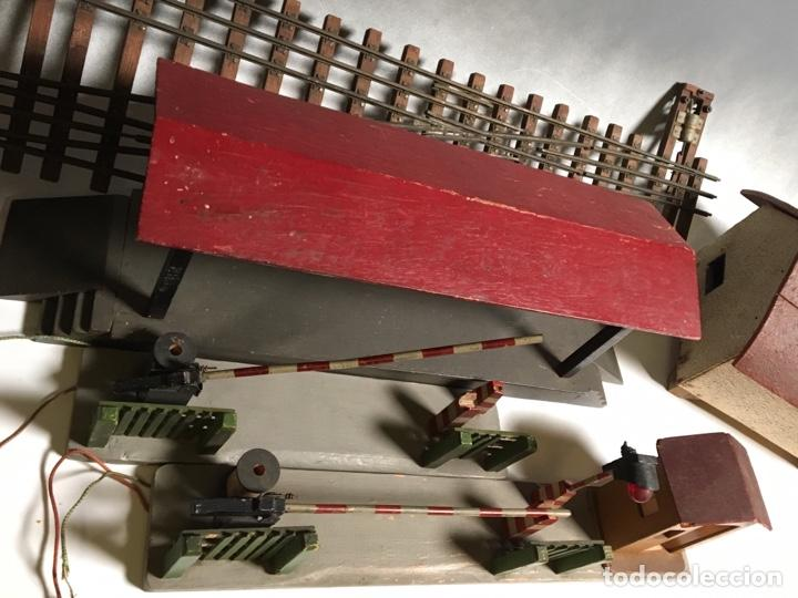 Trenes Escala: Antiguo Lote Paso a nivel eléctrico , Anden , Casa , cambió vía , MANAMO para trenes escala 0 - Foto 35 - 236996685