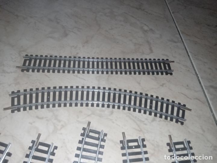 Trenes Escala: Lote vías Tren H0 Lima - Foto 3 - 242177445