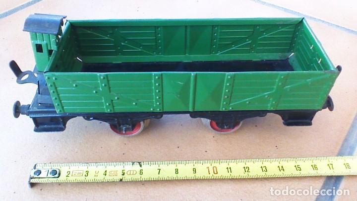 Trenes Escala: VAGÓN DE PAYÁ DE MERCANCIAS CON GARITA - Foto 2 - 242829635