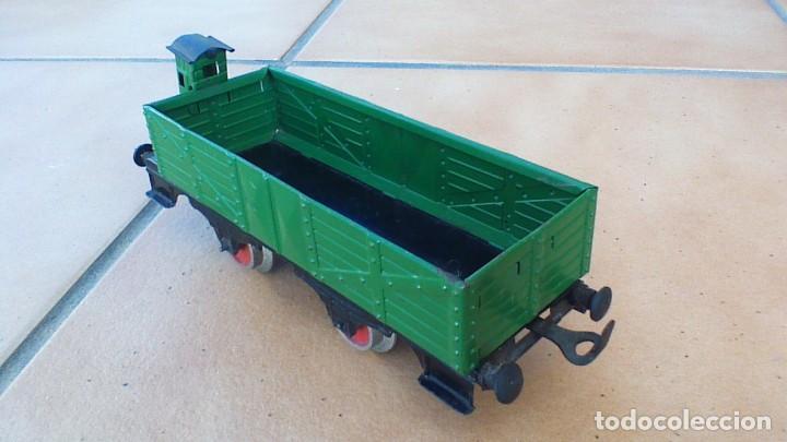 Trenes Escala: VAGÓN DE PAYÁ DE MERCANCIAS CON GARITA - Foto 3 - 242829635