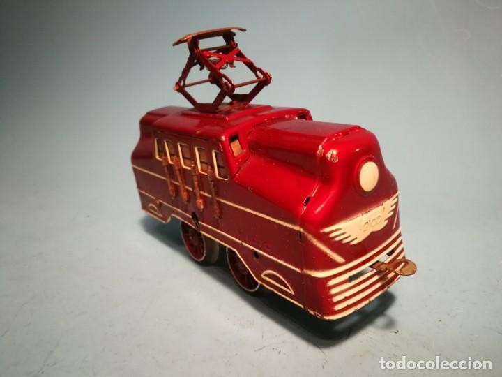Trenes Escala: RARÍSIMA LOCOMOTORA RICO ELÉCTRICA ROJA - Foto 3 - 242851195