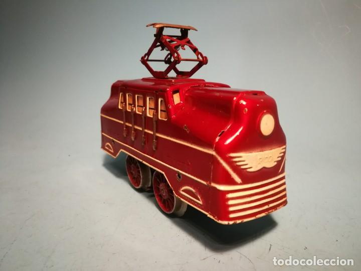 Trenes Escala: RARÍSIMA LOCOMOTORA RICO ELÉCTRICA ROJA - Foto 5 - 242851195